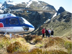 Helicopter Line, Te Anau, Fiordland, New Zealand